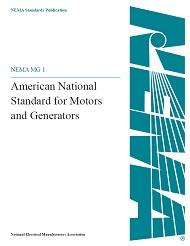 ANSI/NEMA MG 1-2009, Revision 1-2010