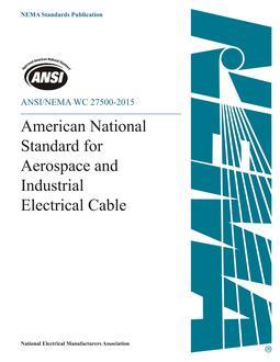 ANSI/NEMA WC 27500-2015
