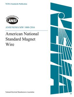 ANSI/NEMA MW 1000-2016