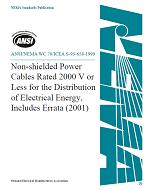 ANSI/NEMA WC 70-1999/ICEA S-95-658-1999
