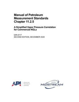 API MPMS Chapter 11.2.5