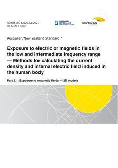AS/NZS IEC 62226.2.1:2021