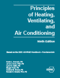 Principles of Heating, Ventilating, and Air Conditioning, 9th Ed.