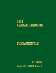 2021 ASHRAE Handbook — Fundamentals (I-P)