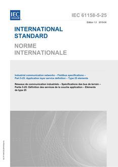 IEC 61158-5-25 Ed. 1.0 b:2019