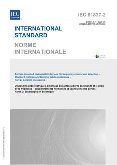 IEC 61837-2 Ed. 3.1 b:2020