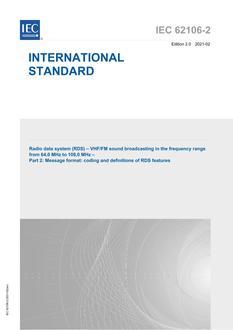 IEC 62106-2 Ed. 2.0 en:2021