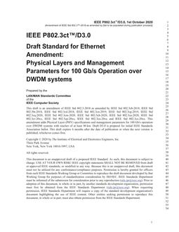 IEEE P802.3ct