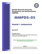 MMPDS MMPDS-05 Chapter 1