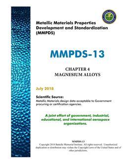 MMPDS MMPDS-13 Chapter 4