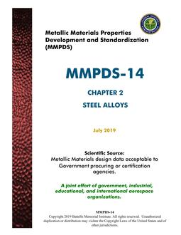 MMPDS MMPDS-14 Chapter 2
