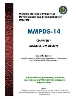 MMPDS MMPDS-14 Chapter 4