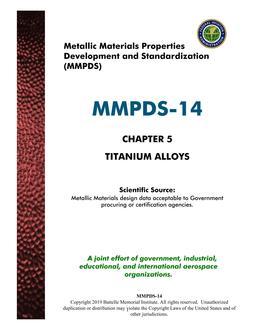 MMPDS MMPDS-14 Chapter 5