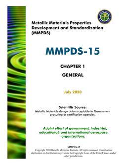 MMPDS MMPDS-15 Chapter 1