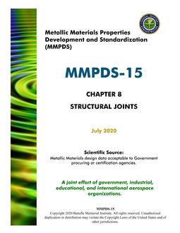 MMPDS MMPDS-15 Chapter 8